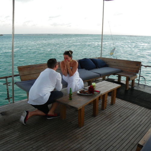 proposal strea charters aruba private snorkeling